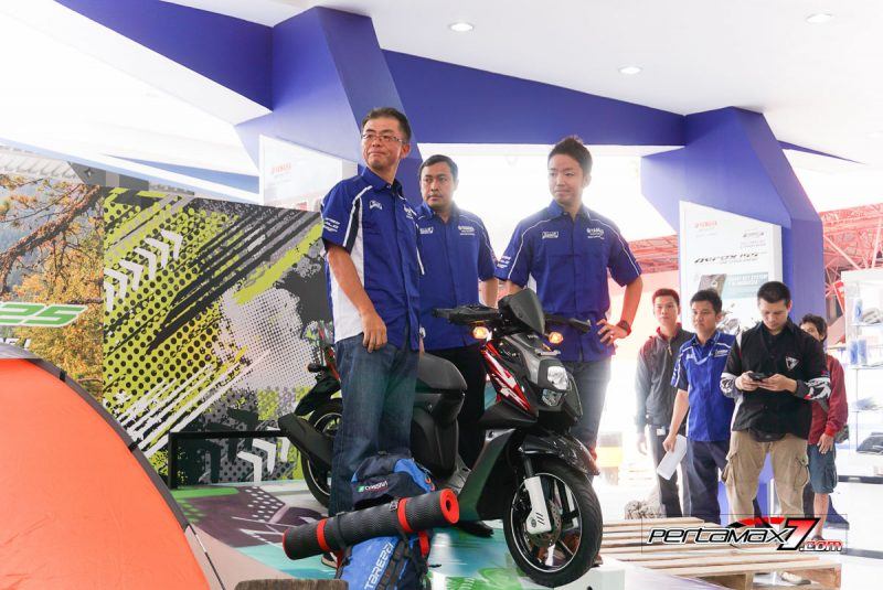 Launching Yamaha All New X-Ride 125 Jakarta Fair 2017 6
