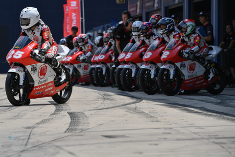 Persiapan Balap Asia Talent Cup