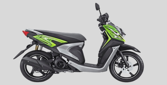 Samping Kanan Yamaha All new X-Ride 125