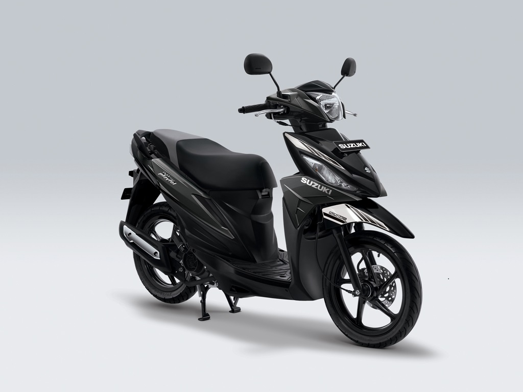 Suzuki Address Playful Warna Dark Grey