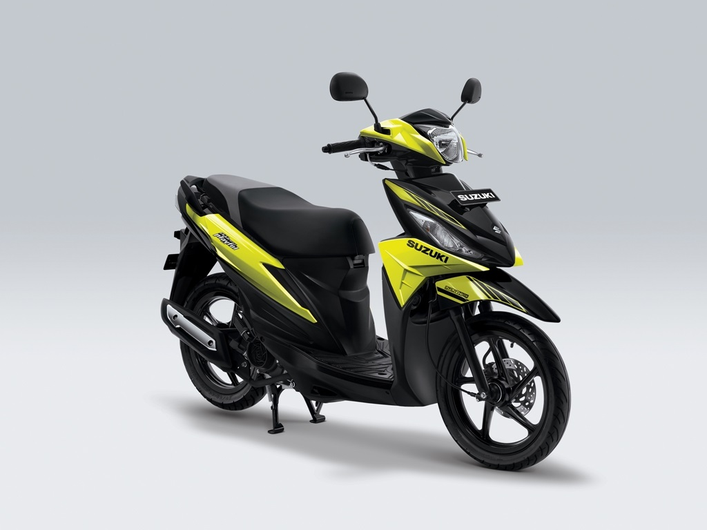Suzuki Address Playful Warna Frash Green