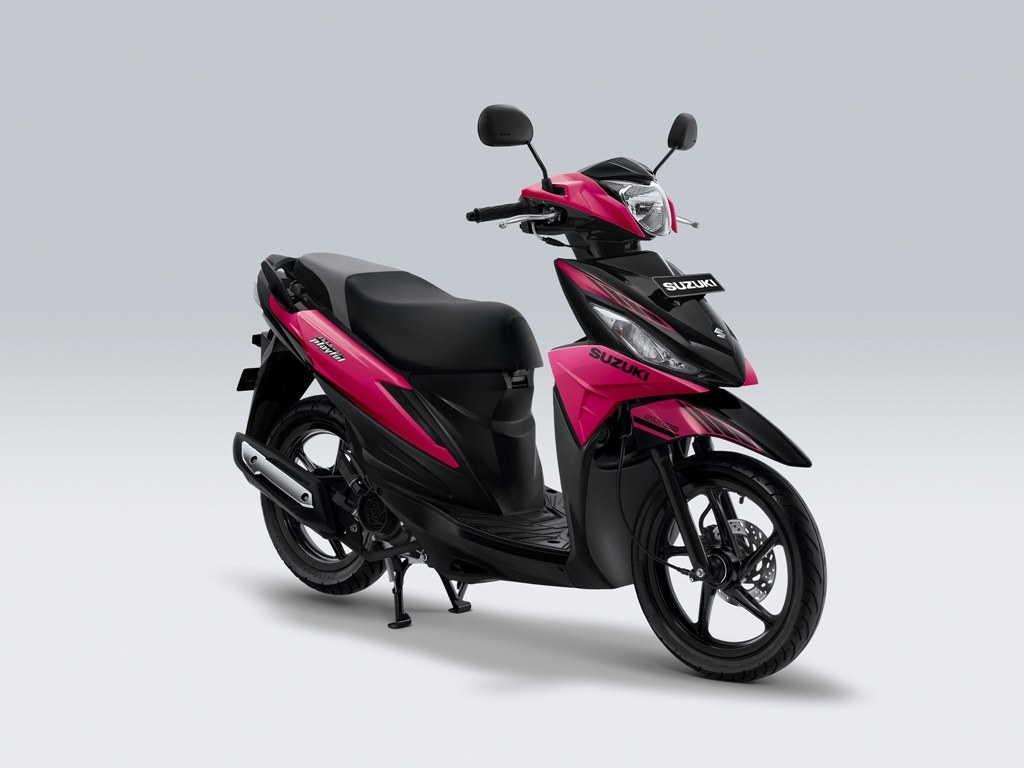 Suzuki Address Playful Warna Hyper Pink