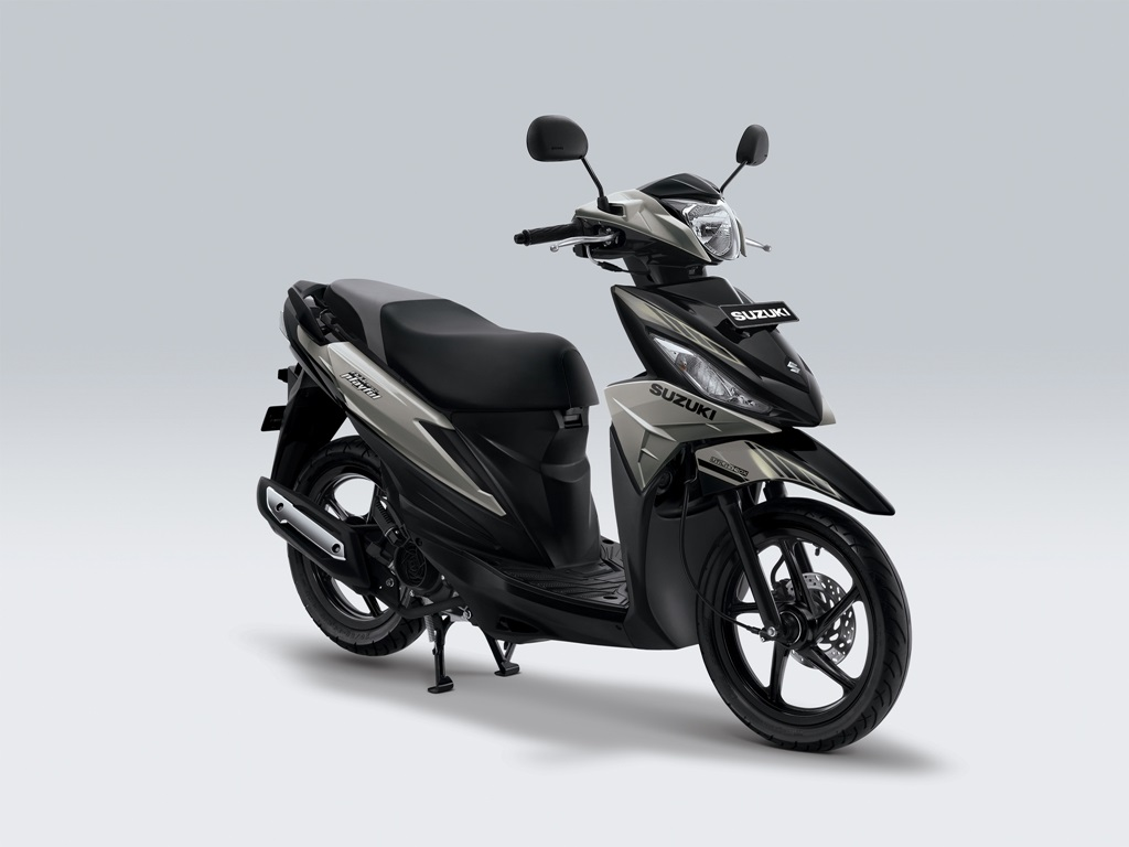 Suzuki Address Playful Warna Ice Silver