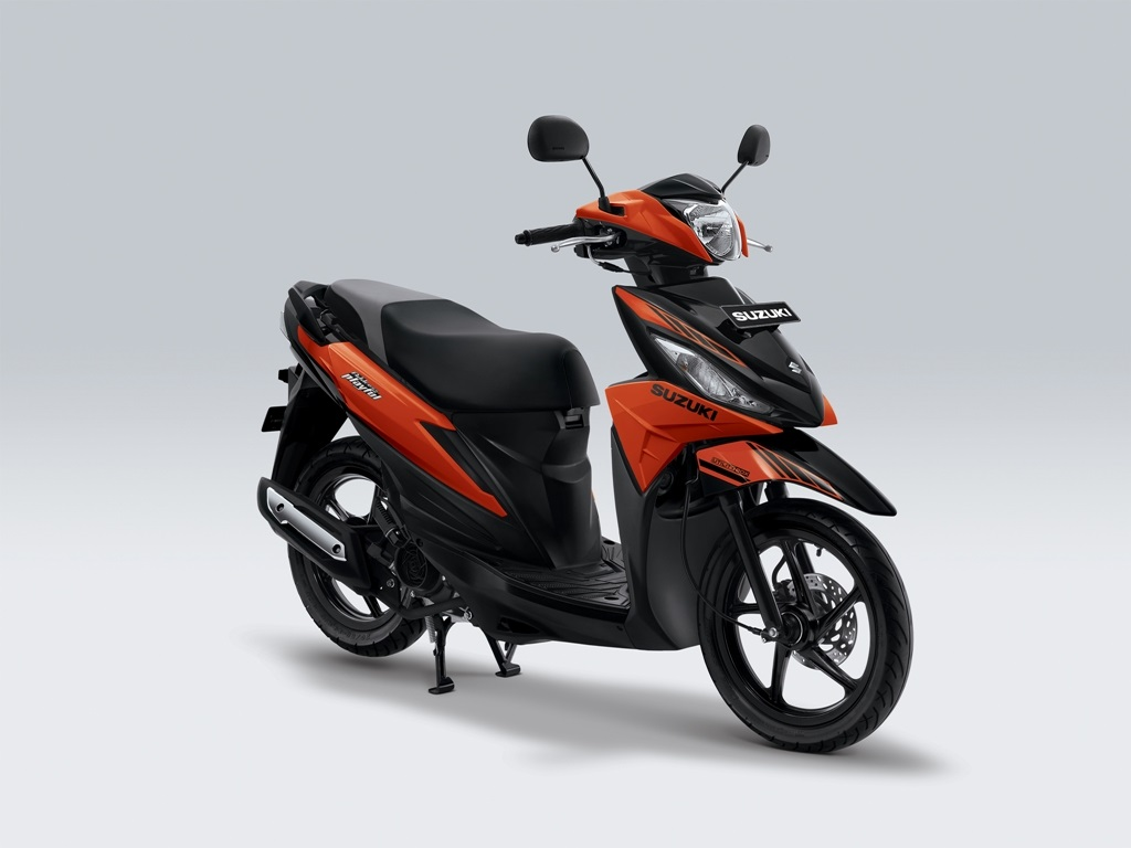 Suzuki Address Playful Warna Luminous Orange