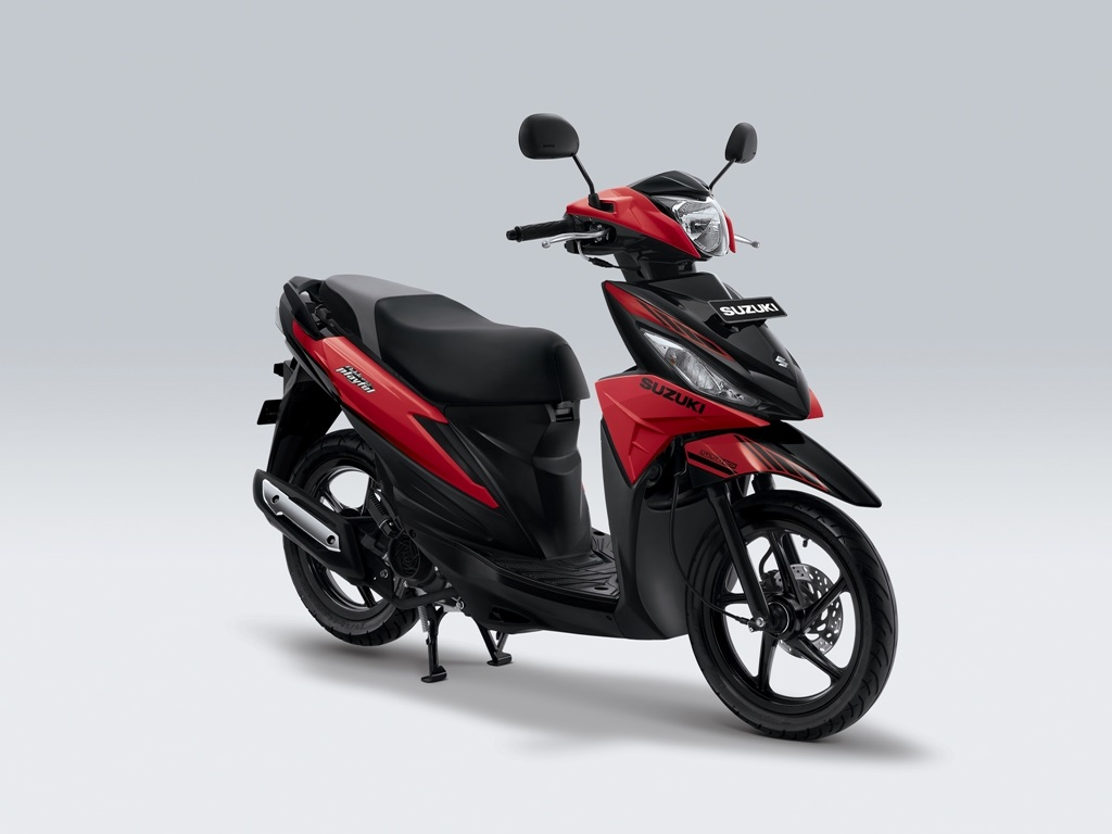 Suzuki Address Playful Warna Stronger Red