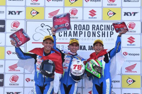 Pebalap Indonesia Podium Suzuki Asian Challenge ARRC Suzuka 2017