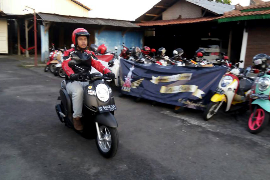 Test Ride All New Honda Scoopy di Trendsetter Day