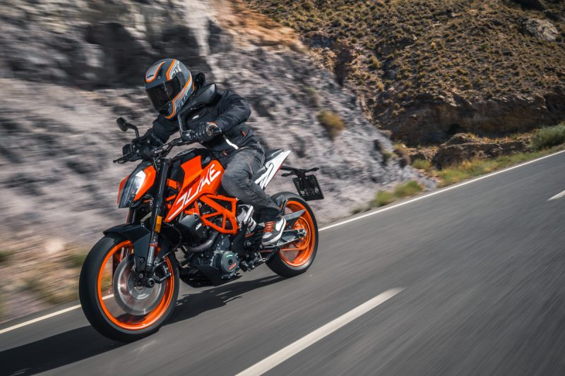Testride New KTM 390 DUke