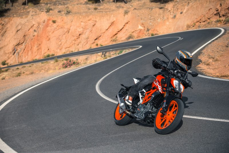 Testride New KTM DUKE 390
