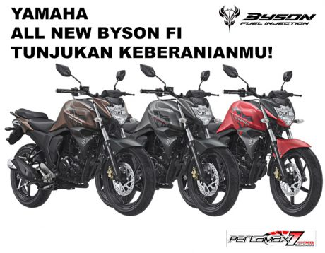 Warna Baru Lagi Yamaha All New Byson FI Facelift 2017