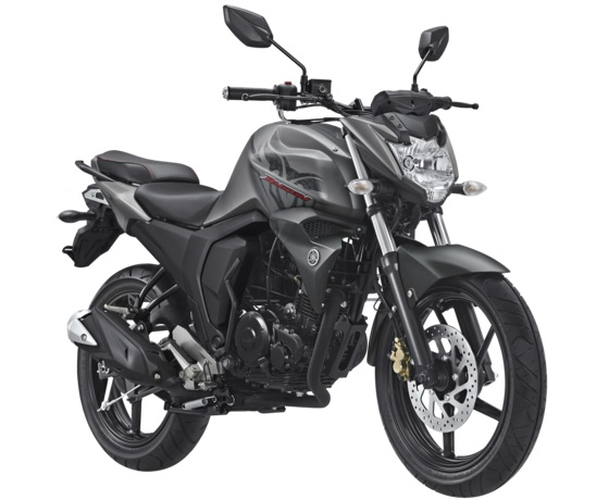 Yamaha All New Byson FI Facelift 2017 Warna Abu Abu Doff Matte Grey