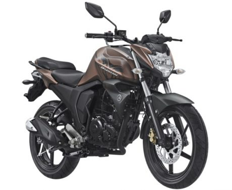 Yamaha All New Byson FI Facelift 2017 Warna Coklat Matte Brown