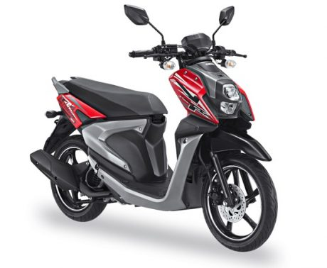 Yamaha All New X-Ride 125 Warna Merah Passion Red