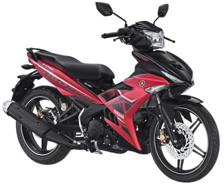 Yamaha Jupiter MX KING 150 Facelift 2017 Warna Merah Doff Matte Red