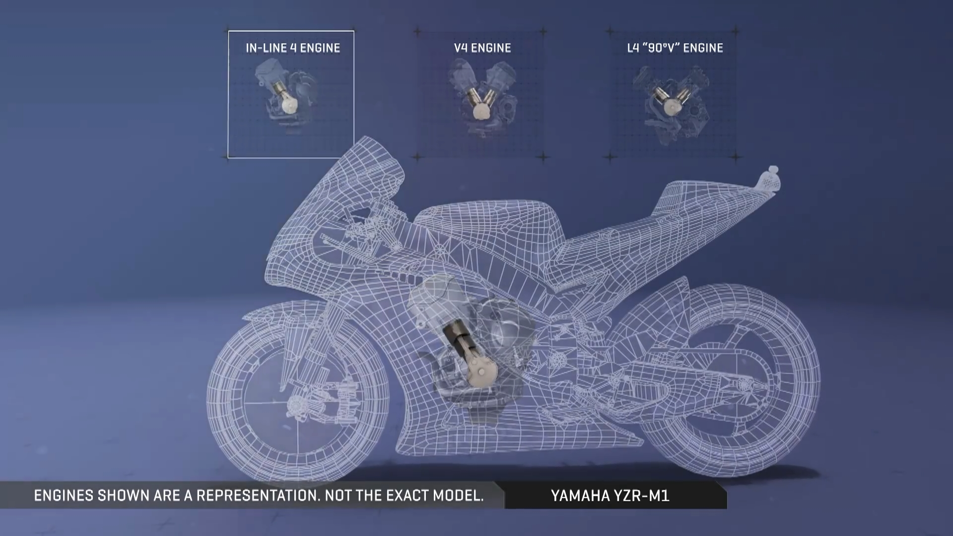 Yamaha YZR-M1 In-Line 4 Engine MotoGP 2017
