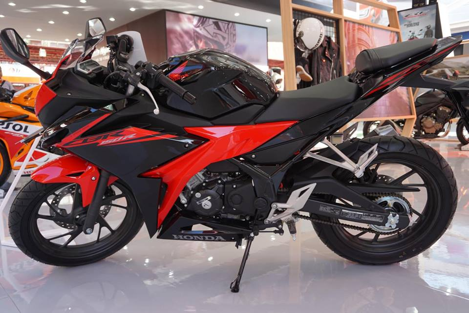 All New Honda CBR150R merah Hitam