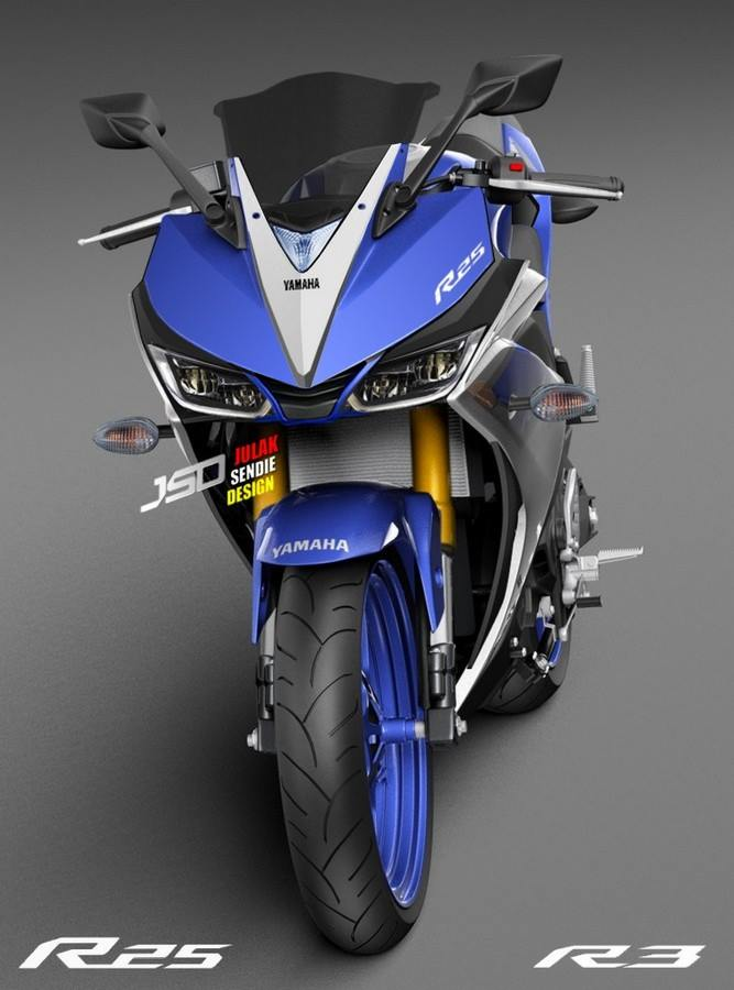All New Yamaha R25 Facelift 2018 Ala Julak Sendie Design