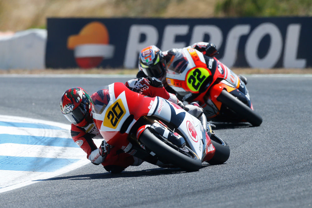 Dimas Ekky di CEV Moto2 estoril 20