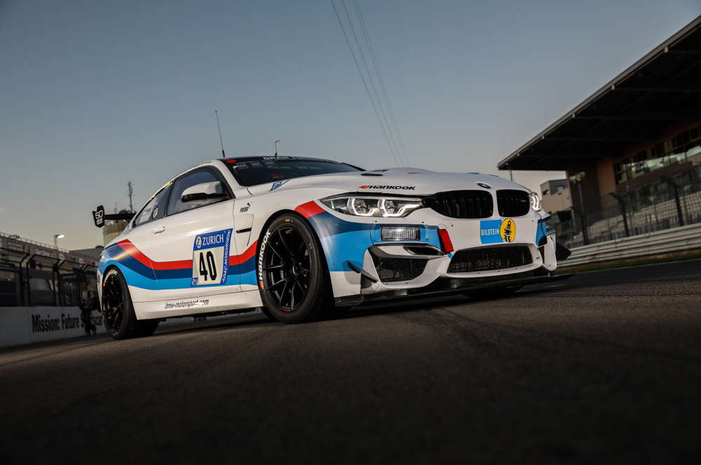 Hankook equips a new customer-racing model from BMW Motorsport