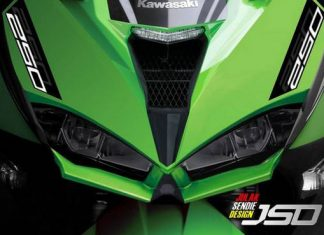 Headlamp All New Kawasaki Ninja 250 FI LED ala Julak Sendie