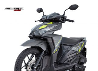 Honda Click 150i Vario 150 eSP warna Matte GunPowder Black Metallic