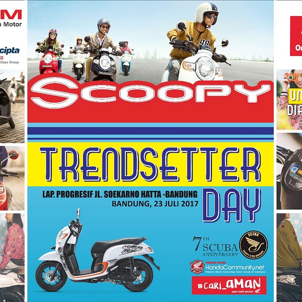 Honda Scoopy Trendsetter Day 2017 Bandung