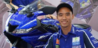 Imanuel Pratna Yamaha All new R15 Movistar MotoGP 2017