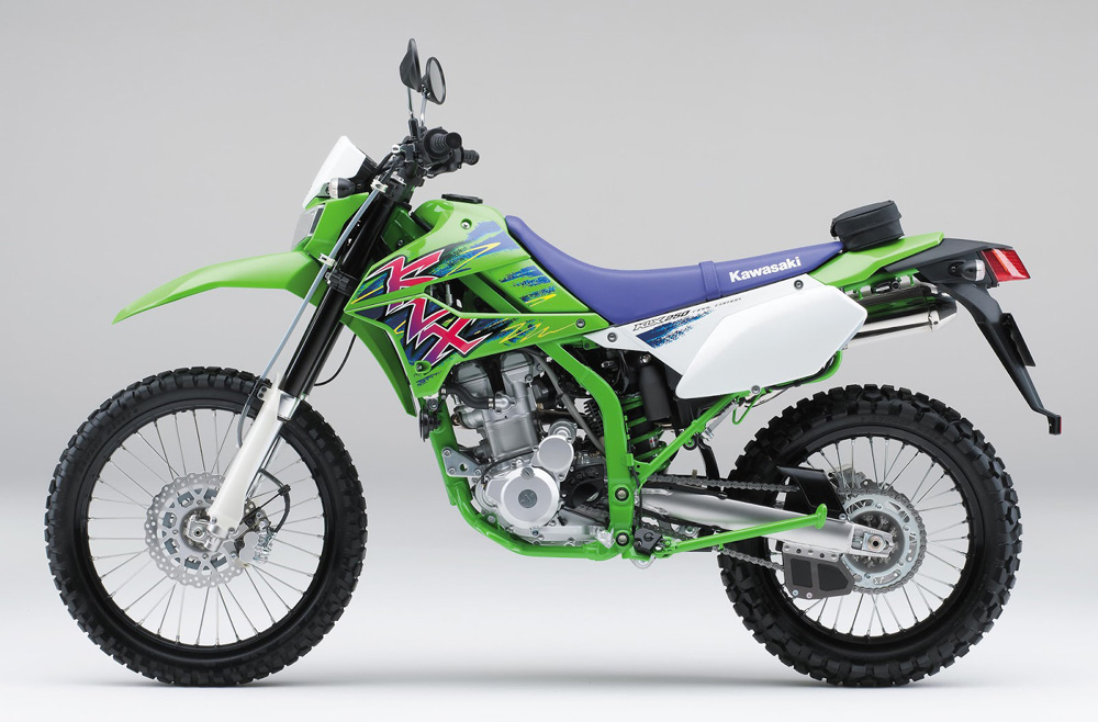 Kawasaki KLX 250 Final Edition 2016 Japan 1