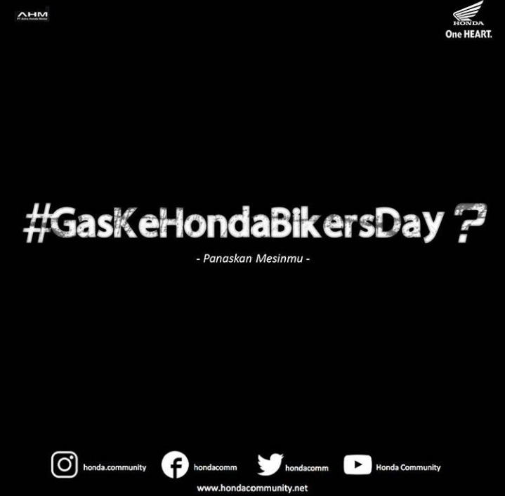 Lokasi Honda Bikers Day 2017