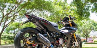 Modifikasi Yamaha Jupiter MX KING 150 Velg Rotobox Moge 28