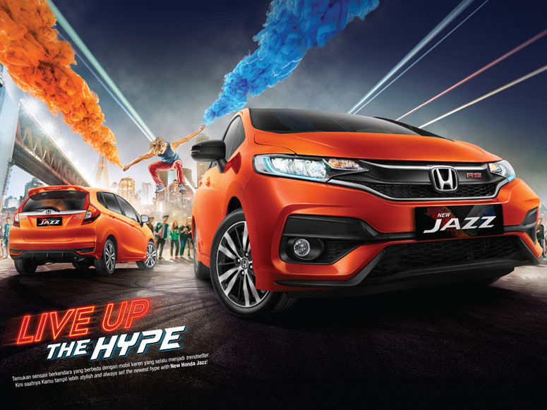 New Honda JAZZ Hadir di Indonesia Live Up The Hype