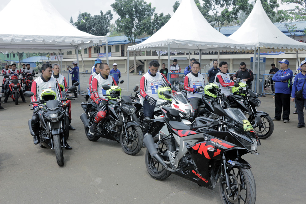 Persiapan Safety Riding Training Suzuki GSX-S150