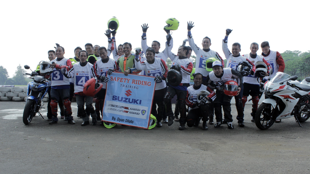 Peserta Suzuki Safety Riding Training 2