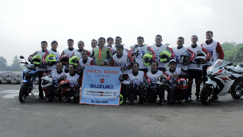 Peserta Suzuki Safety Riding Training