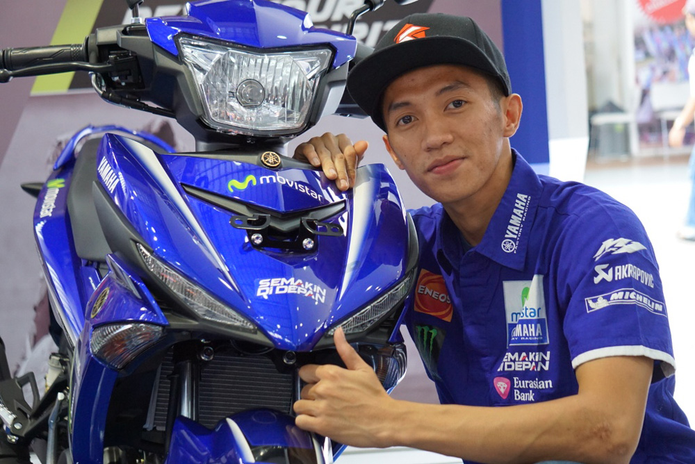 Wahyu Aji Yamaha Jupiter MX KING MotoGP Movistar 2017