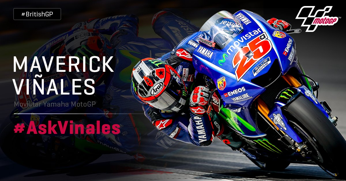 Ask Maverick Vinales