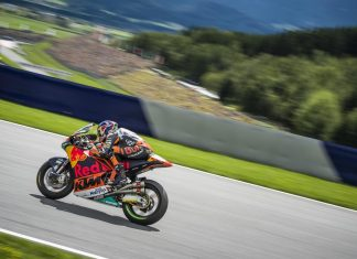 Brad Binder KTM Moto2 Red Bull Ring Spielberg 2017