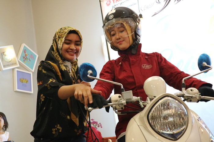 Edukasi safety riding dengan New Fino 125