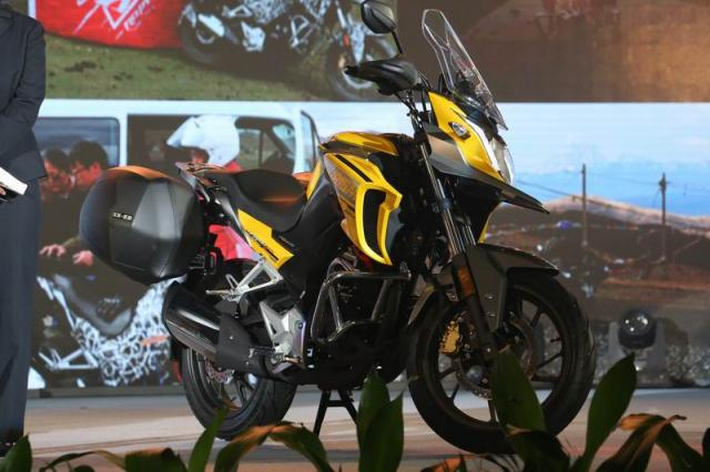 Honda CB190X Tourism Adventure Yellow