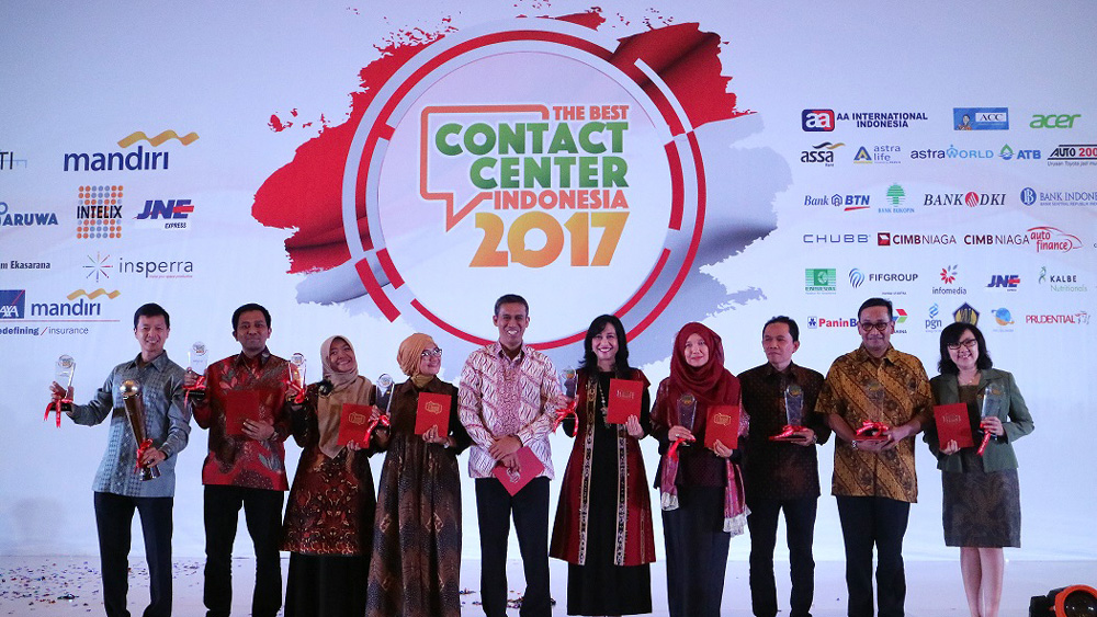 Juara The Best Contact Center Indonesia 2017