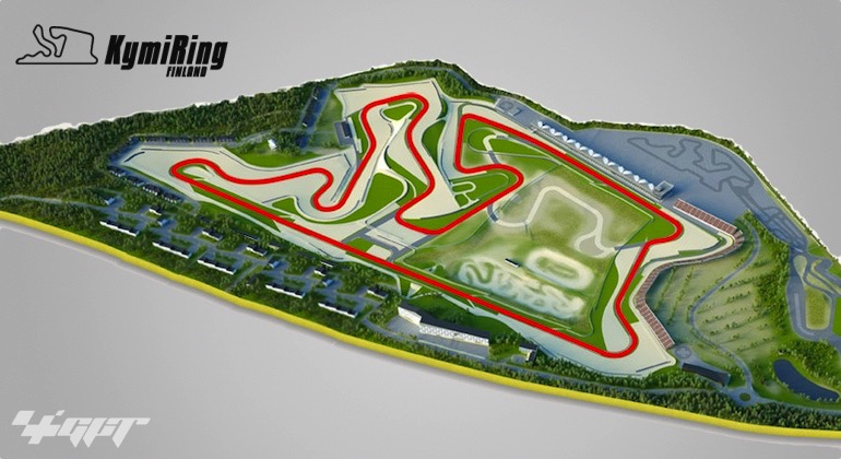 Layout KYMI RING MOTOGP FINLANDIA