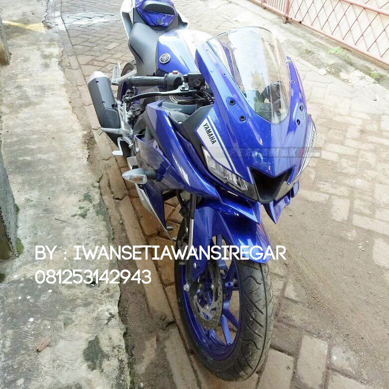 Modifikasi Yamaha ALl New R15 Winglet