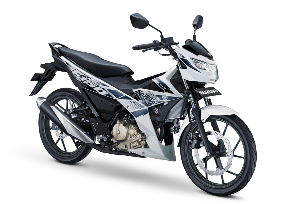 All New Suzuki Satria F150 Injeksi Warna Putih Briliant White