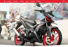 All new Honda Sonic 150R Facelift 2017