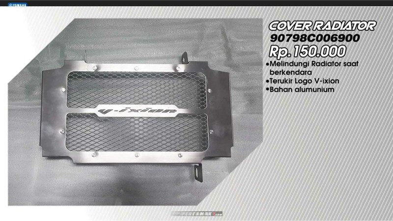 Cover Radiator Yamaha All New Vixion R P7
