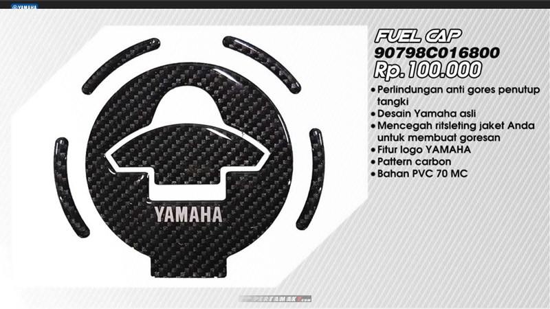 Fuel Cap Sticker Yamaha All New Vixion R P7
