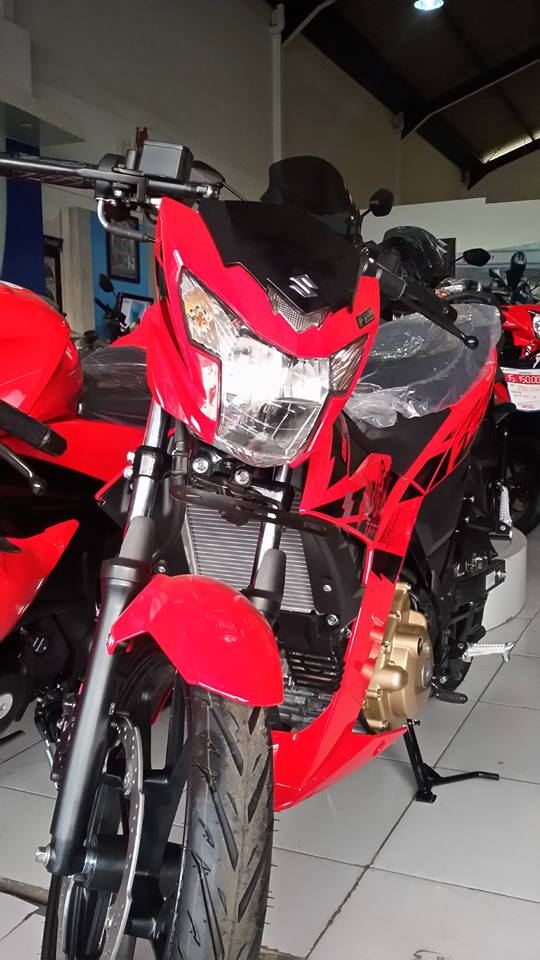 Headlamp All New Suzuki Satria F 150 Injeksi Merah 2018