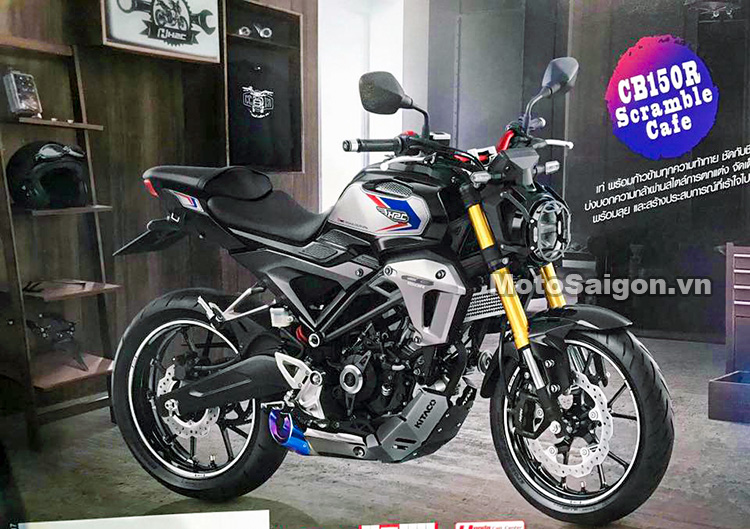 Honda CB150R Exmotion Scramble Cafe