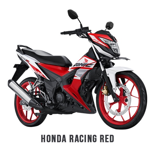 Honda Sonic 150R 2018 Honda Racing Red