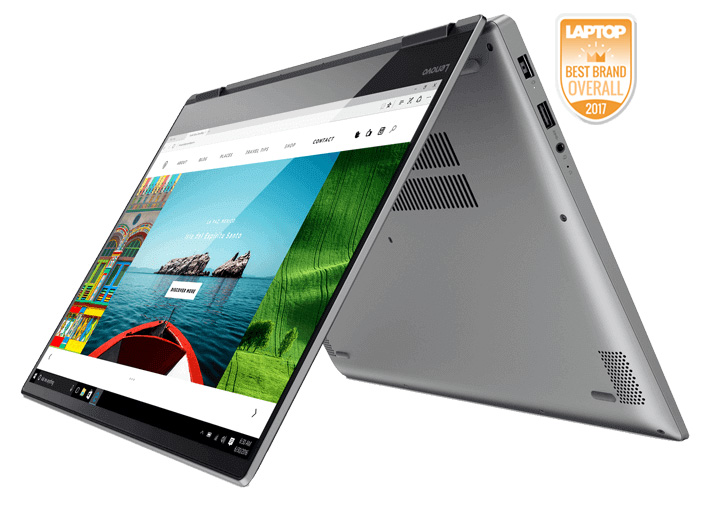 Lenovo yoga 720 15 warna iron grey